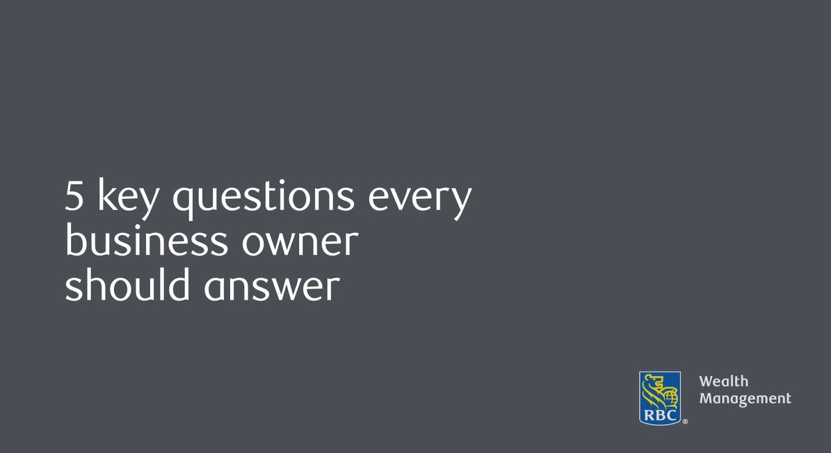 5 key questions every business owner should answer
